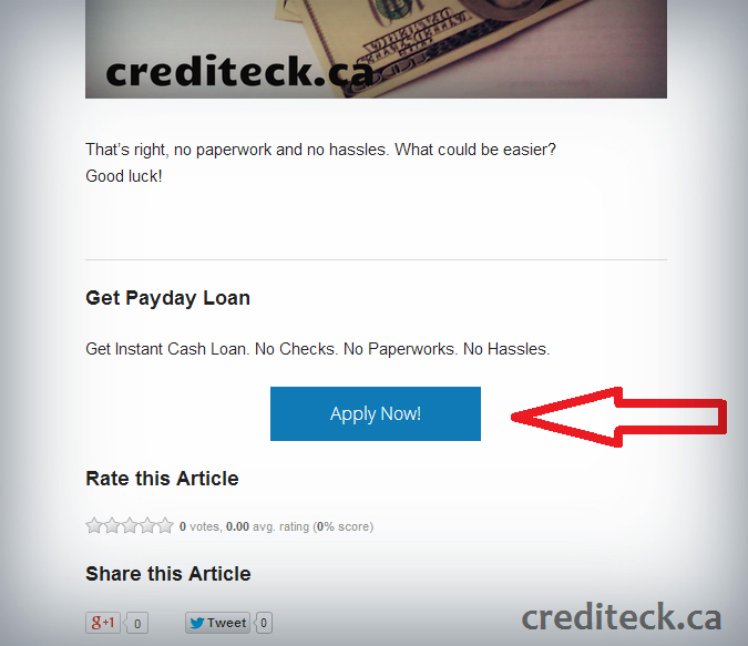 Steps to Applying for a Payday Loan
